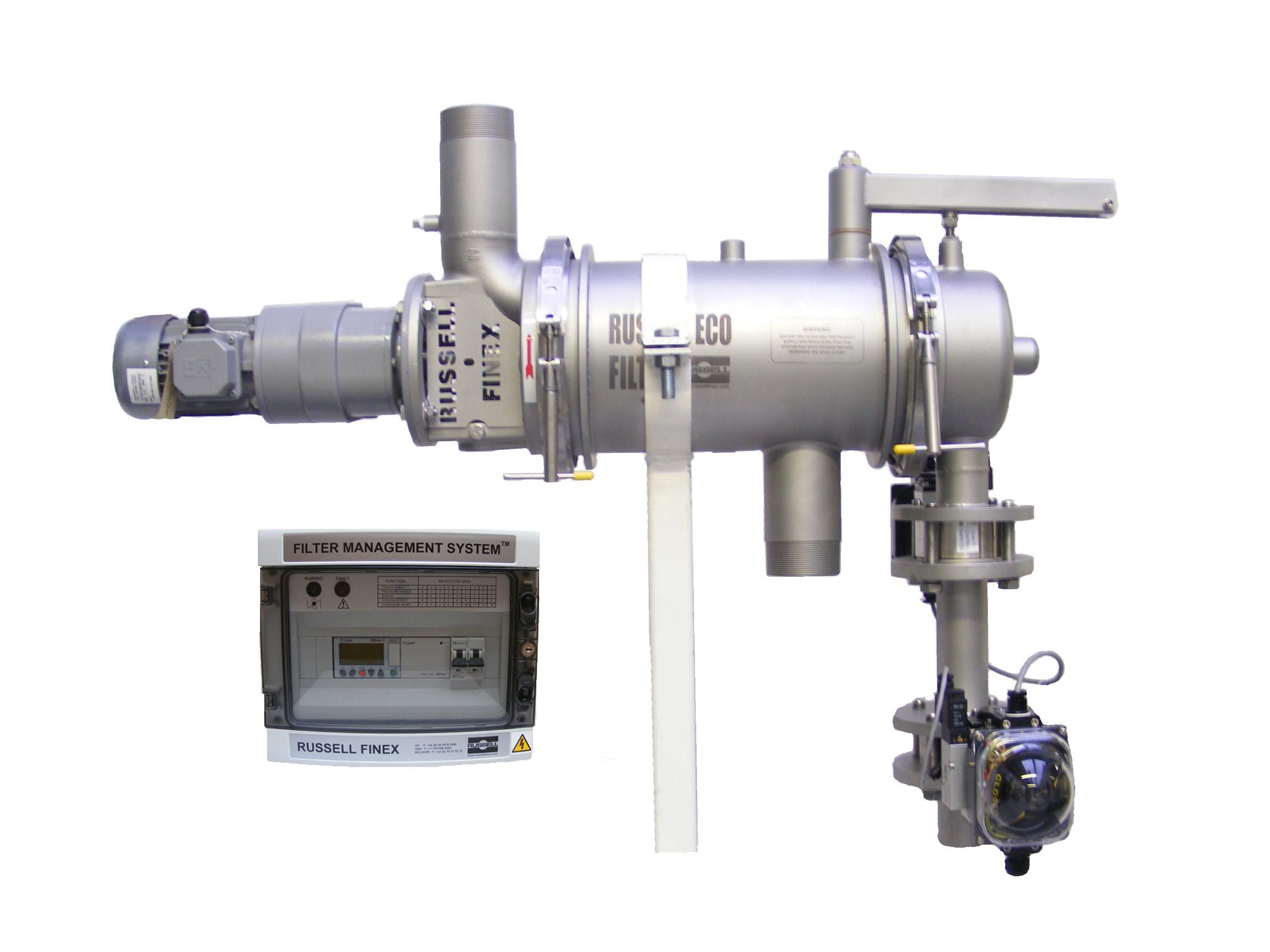 automatyczne filtry samoczyszczące Russell Eco Filter - FMS