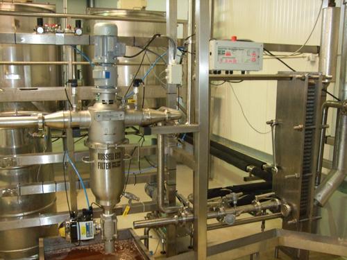 filtr liniowy samoczyszczacy Russell Eco Filter do filtrowania miodu