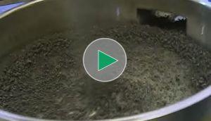 Przesiewanie granulek ceramicznych