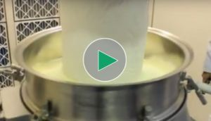 Przesiewanie mleka w proszku