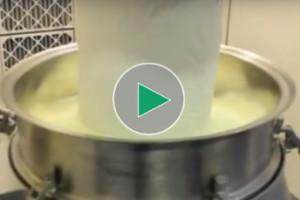 sieving-milk-powder