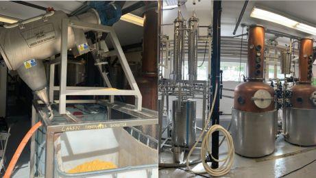 Przemysłowe odśrodkowe oddzielenie etanolu